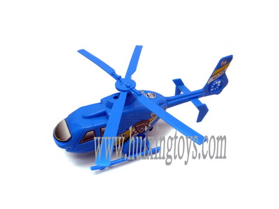 PULL LINE HELICOPTER