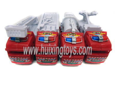 PULL BACK  FIRECAR 4PCS